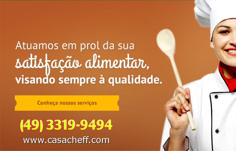 Casa Cheff Chapecó - Alimentação Coletiva